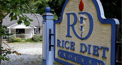 'Rice Diet' center closes its doors: Diet center folds after 70 years