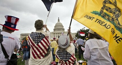The anti-war tea party rises, but is it legitimate?