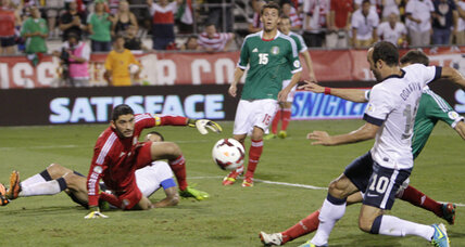 World Cup qualifying: US defeats Mexico for 2014 Brazil berth