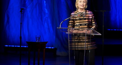 Hillary Clinton on screen after all? Two films moving forward.