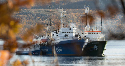 Pirates of Greenpeace? Russian court brings piracy charges against eco-activists