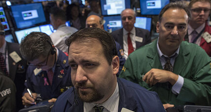 Stocks fall as government shutdown settles in