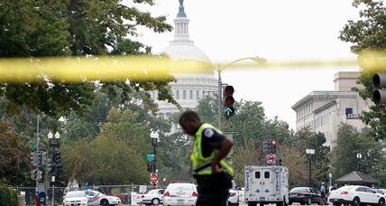 Gunfire erupts on Capitol hill after chase from White House