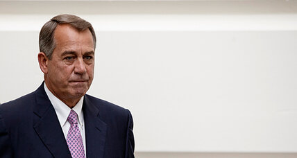 Government shutdown: Why Boehner doesn't overrule tea party faction