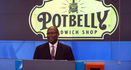 Potbelly sandwich maker shares double in Nasdaq debut