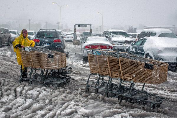 Fall Snow Storm Tornadoes Wallop Plains Csmonitor Com