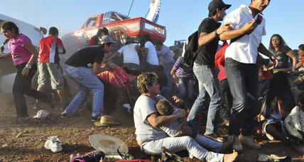 8 killed in monster truck accident in Mexico