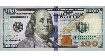 New $100 bill incorporates advanced anti-counterfeiting measures