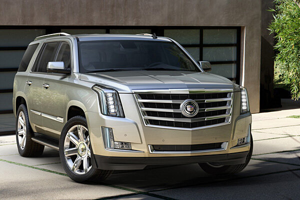 Cadillac Escalade gets complete redesign for 2015  CSMonitorcom