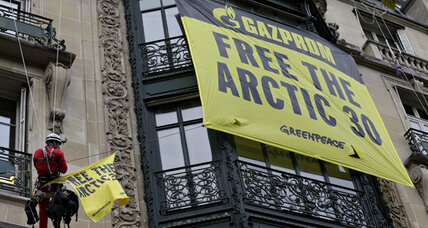 First pirates, now junkies? Russia to up charges against Greenpeace.
