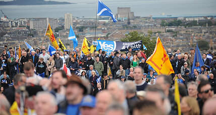 Is UK gearing up for fight over Scottish independence?