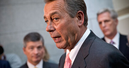 Boehner pushes short-term debt limit fix. Will it work? (+video)