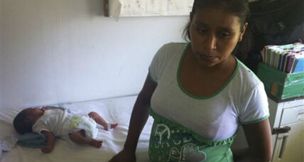 Woman denied care, gives birth on clinic lawn