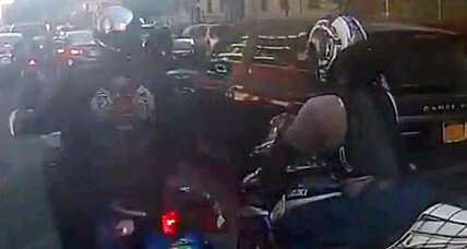 New York biker attack's 'Mad Max' antics spook public, bring harsh charges