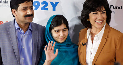 Christiane Amanpour interview: Malala talks about wanting to be prime minister