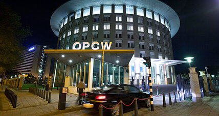 Nobel Peace Prize win highlights work of chemical arms group OPCW
