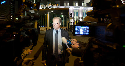 OPCW: Will Nobel Peace Prize help wipe out chemical weapons?