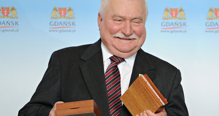 Nobel Peace Prize winner Lech Walesa still shaking up Poland, 30 years later