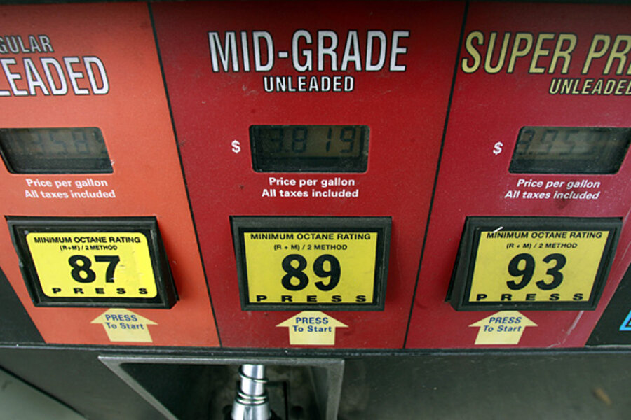 Should you fill up with premium gas? - CSMonitor com
