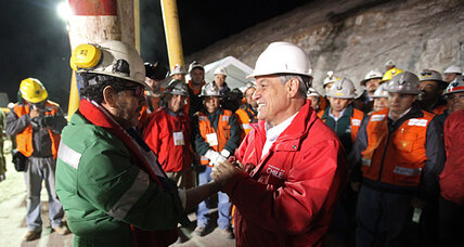 Chile mine rescue: 3 years later, Piñera tries to recapture the political magic