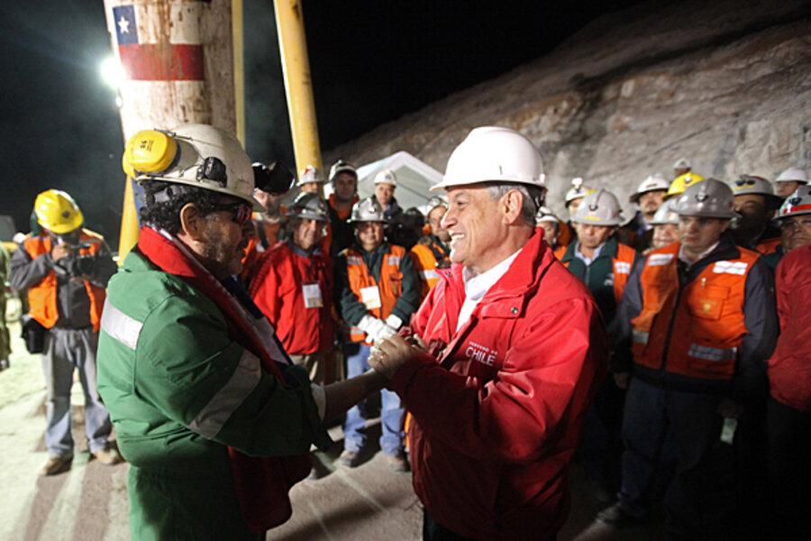 chilean copper mine collapse and rescue