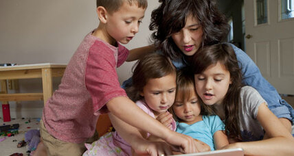 Tots on touch screens: 5 tips for parents