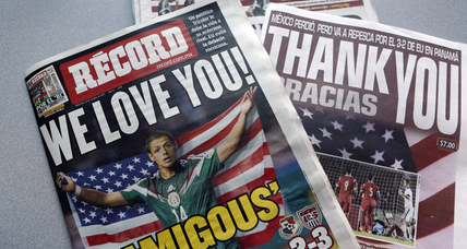 Gracias USA? Why some Mexican soccer fans are thanking their northern neighbor