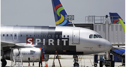 Spirit Airlines fire stemmed from engine failure