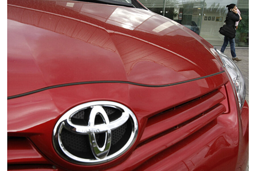 Toyota recall: Spiders are causing airbag problems - CSMonitor com
