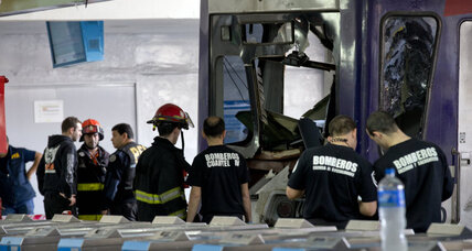 Argentina train crash results in injuries, accusations