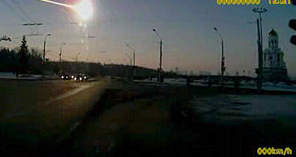 Meteor that bombed Russia left telltale tracks seen from space (+video)