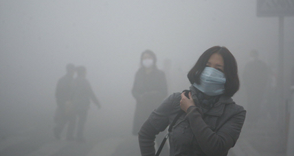 China smog: Super smog blankets China city, 40 times higher than international safety standard