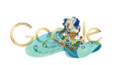 Google Doodle celebrates Celia Cruz, 'Queen of Salsa' (+video)