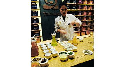 Starbucks buys Teavana. First coffee dominance, now tea?
