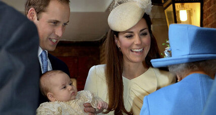 Prince George christening: Can it boost decline in baptism tradition? (+video)