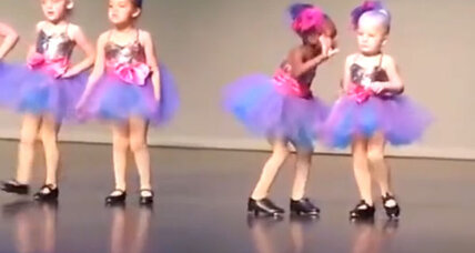 Preschooler's improv tap routine reminds parents to let kids be kids