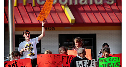 McDonald's helpline to employee: Go on food stamps