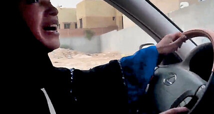 Saudi women take the wheel en masse – and dare leaders to catch up