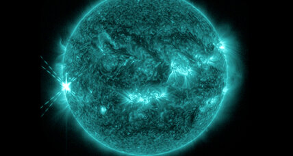 Sun unleashes humongous flare
