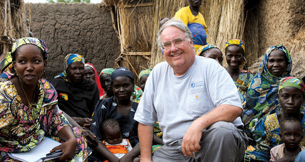 Howard Buffett seeks lasting solutions to the world's food and water crises