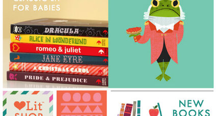 Classic novels as baby board books: Sophisticated or silly?
