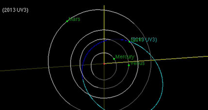 Tractor-trailer-sized asteroid to buzz Earth on Friday
