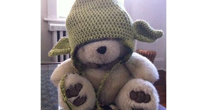 Halloween Plea: 'Dear Will, Please wear the Yoda hat'