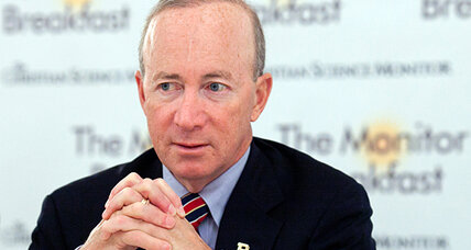 US debt is hindering growth and burdening youth, Mitch Daniels warns