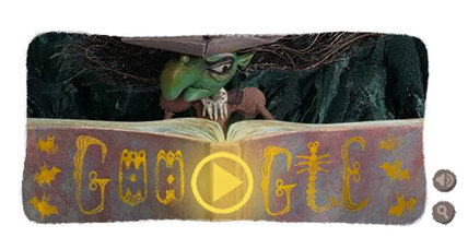 Halloween witch: The real history behind Google's doodle