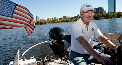 When Tom McNichol saw swirling trash he launched his Clean Up Boat