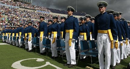 Air Force Academy honor oath: 'God' now optional (+video)