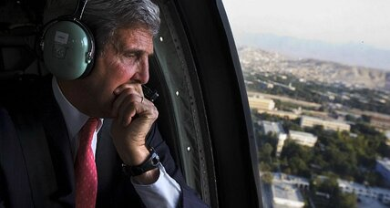 Kerry drops into Kabul to prod Karzai on US withdrawal deal