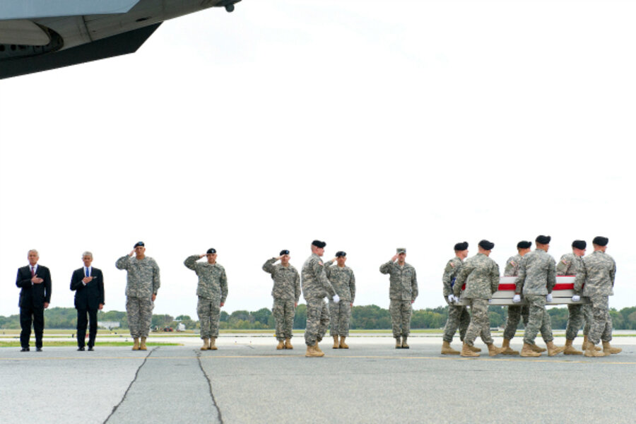 Donors pay death benefits to military families during