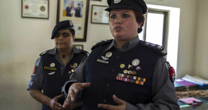 Pakistan's women police fight criminals, militants, and scorn